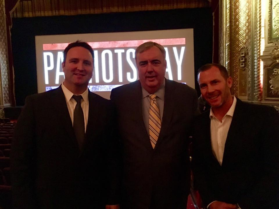 Frontier Security Strategies's Ed Cash with Commission Ed Davis and Eric Gahagan, MA State Bomb Squad (Retired)