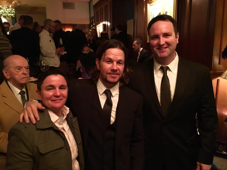 Sam Castriotta, Mark Wahlberg and Frontier Security Strategies's Ed Cash
